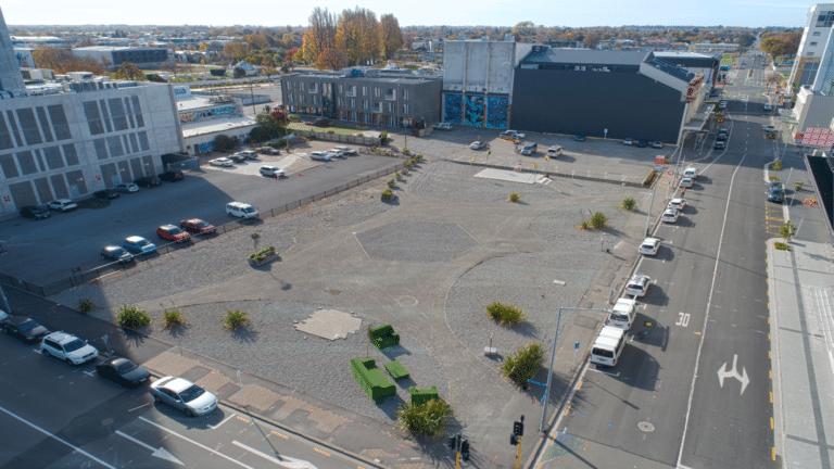 The development site